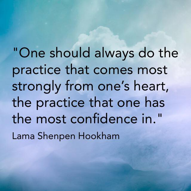 Heart advice for Buddhist meditators in Leeds