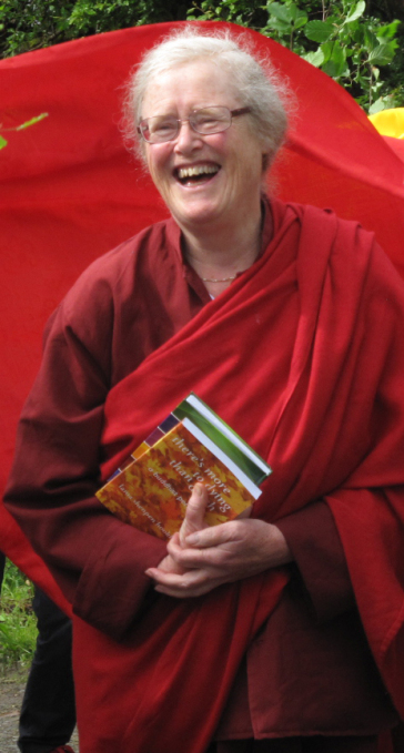 Lama Shenpen Hookham Female Buddhist Teacher UK