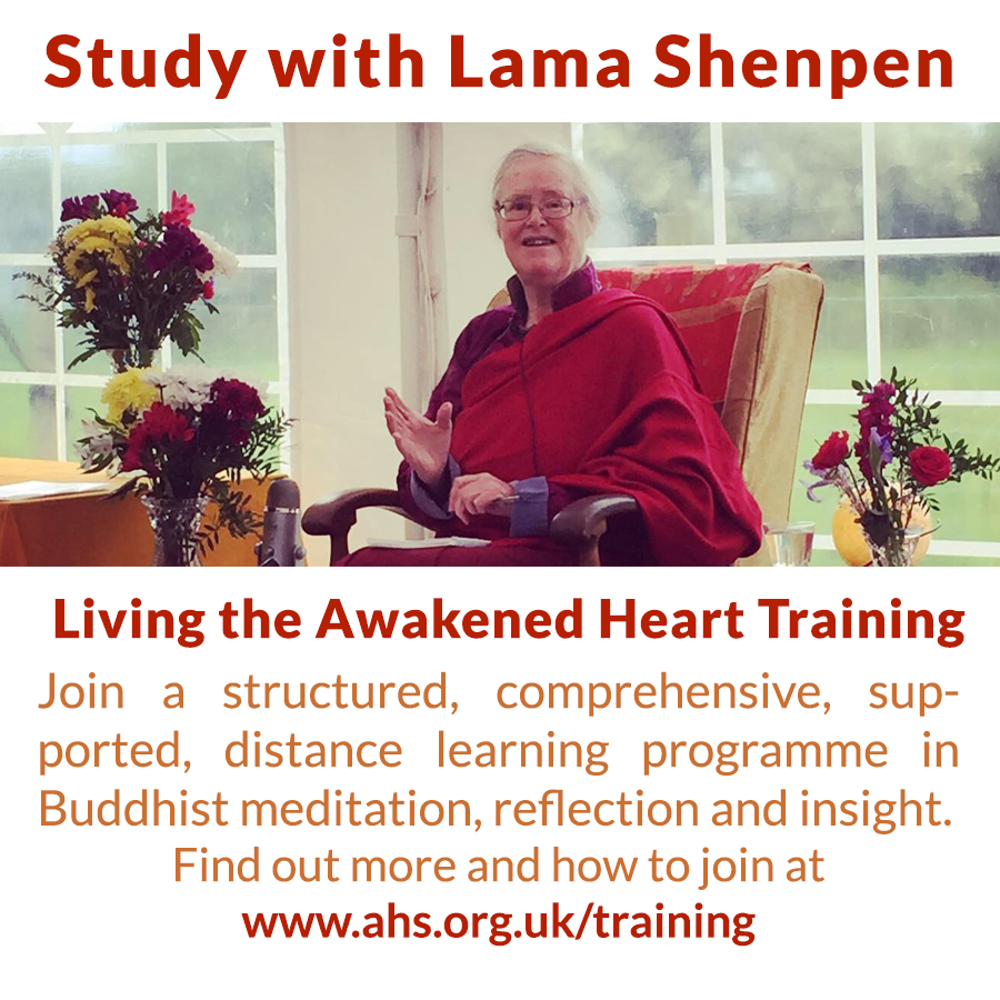 Study with Buddhist teacher Lama Shenpen